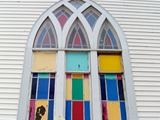 Window, Historic Walter's AME Zion Church, 1882, Chris Jennette